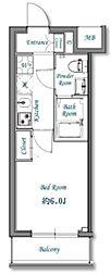 新築 N−stage武蔵浦和[204号室号室]の間取り
