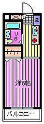 コンフォートマンション北戸田[528号室]の間取り