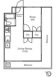 エミナンス東方[3階]の間取り