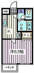 埼玉県さいたま市南区別所5の賃貸マンションの間取り