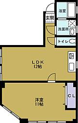 八幡屋ビル[2階]の間取り