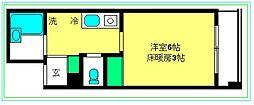 ロワール横濱関内[7階]の間取り