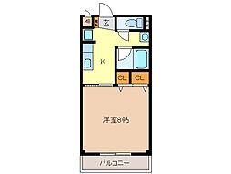 三重県亀山市南鹿島町の賃貸アパートの間取り