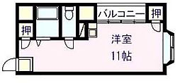 ハイツ エイト[1階]の間取り