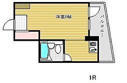 ライオンズマンション神戸[5階]の間取り