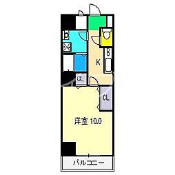 リフュージュ・N[2階]の間取り