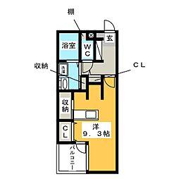 casa dolce[1階]の間取り