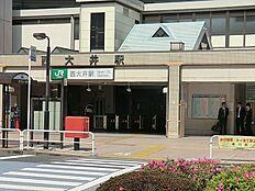 西大井駅(JR 横須賀線)まで725m