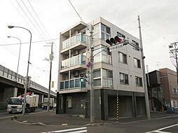 北海道札幌市白石区平和通16丁目の賃貸マンションの外観