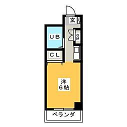 メゾン・ド・エトワール[4階]の間取り