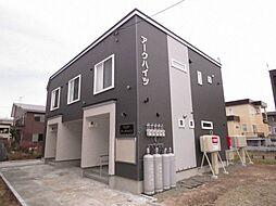 北海道札幌市手稲区前田八条14丁目の賃貸アパートの外観