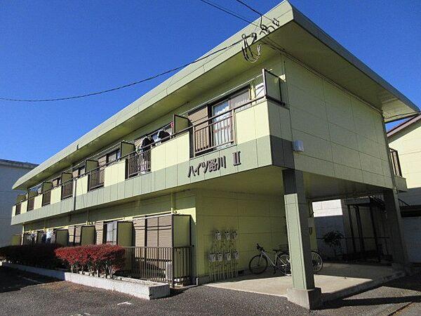 ハイツ路川II 2階の賃貸【茨城県 / つくば市】