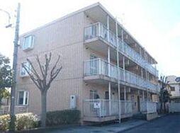 東京都福生市北田園2丁目の賃貸マンションの外観