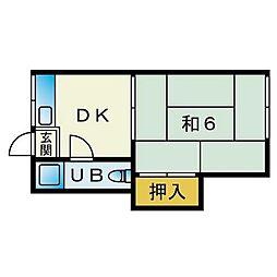 白木原駅 2.6万円