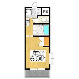 エクシードIII[1階号室]の間取り