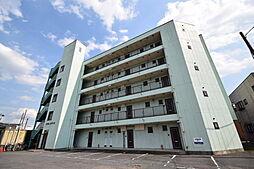 栃木県宇都宮市雀の宮5の賃貸マンションの外観