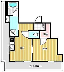 MKマンション[402号室]の間取り