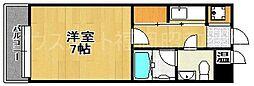 エステートモア平尾山荘通り[2階]の間取り