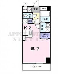 シトラセイトマンション[2階]の間取り