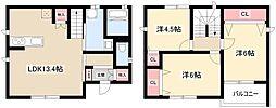 仮)枇杷島4丁目計画 1階3LDKの間取り