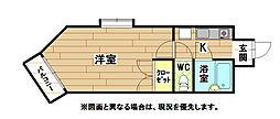 SPACE VILLAGE64[8階]の間取り