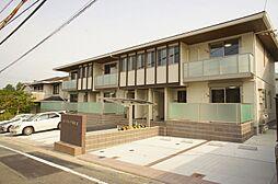 福岡県筑紫野市原田2丁目の賃貸アパートの外観