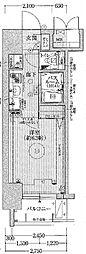 エステムコート新大阪VIIステーションプレミアム[3階]の間取り