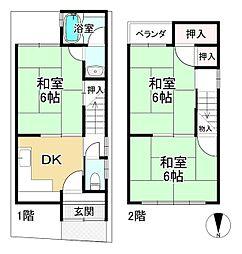 向日町駅 650万円