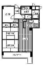 アーバンライフ桜坂[6階]の間取り