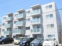 la clef 東札幌[4階]の外観