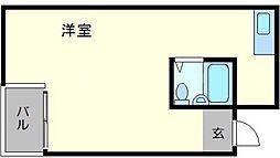 巴第一マンション[2階]の間取り