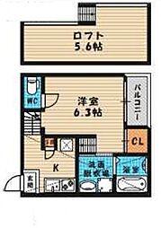 (仮称)旭区高殿六丁目B・SKHコーポ[101号室号室]の間取り