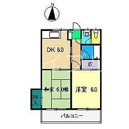 マンションみち[2階]の間取り
