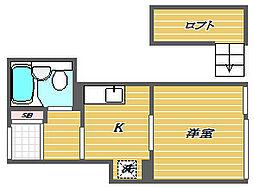 Lumio大森[1階]の間取り