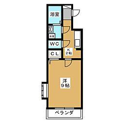 メゾン・ハーモニー[2階]の間取り