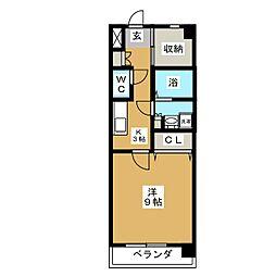 STAGE−M[2階]の間取り