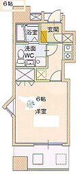 サングレートESAKA2[7階]の間取り