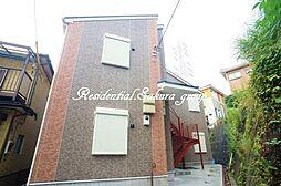 神奈川県鎌倉市大船5丁目の賃貸アパートの外観