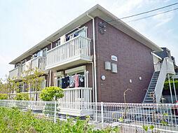 滋賀県大津市石山寺3丁目の賃貸アパートの外観
