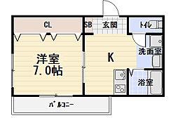 シャンティ[2階]の間取り