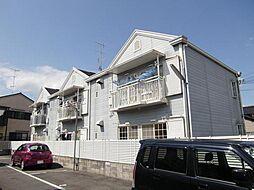 京都府京都市西京区松室扇田町の賃貸アパートの外観