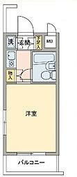 ルーブル新宿西落合[108号室]の間取り