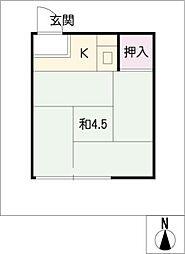いりなか駅 1.2万円