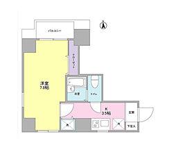 Clover Court Kuromoncyo[12階]の間取り