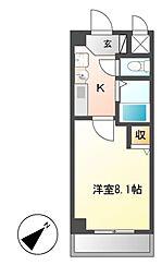 PLAGE HIMURO[3階]の間取り