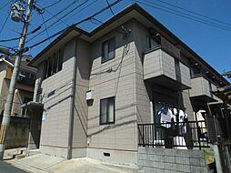 京都府京都市山科区上野御所ノ内町の賃貸アパートの外観