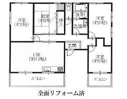 天松ハイツ[4階]の間取り