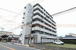 福岡県古賀市花見南2丁目の賃貸マンションの外観