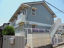 東京都立川市栄町5丁目の賃貸アパートの外観