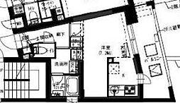 新築  B CITY APARTMENT SHINJYUKU NW[206号室号室]の間取り